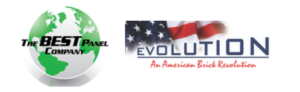 Best Panel Company and Evolution Brick Logo